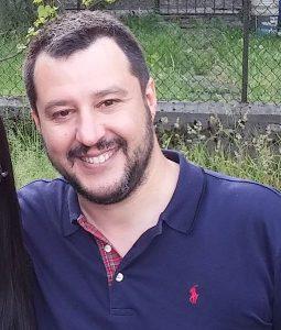 Matteo Salvini su nave Diciotti